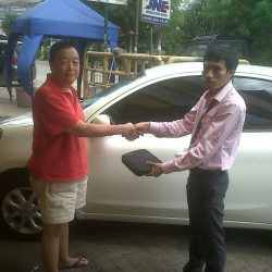 Foto Penyerahan Unit 10 Sales Marketing Mobil Dealer Nissan Cibubur Sapta