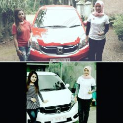Foto Penyerahan Unit 2 Sales Marketing Mobil Dealer Honda Salatiga Irma