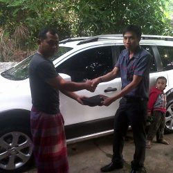 Foto Penyerahan Unit 4 Sales Marketing Mobil Dealer Nissan Cibubur Sapta