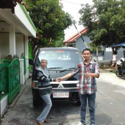 Foto Penyerahan Unit 7 Sales Marketing Mobil Dealer Mitsubishi Solo Agus