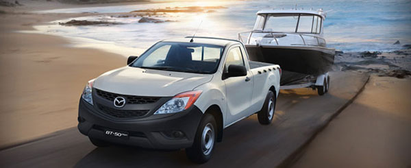 Mazda BT 50 Pro Single Cabin