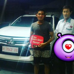 Foto Penyerahan Unit 3 Sales Marketing Mobil Dealer Mitsubishi Magelang Andreas