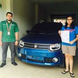Foto Penyerahan Unit 3 Sales Marketing Mobil Dealer Suzuki Malang Nino