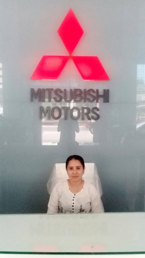 Sales Marketing Mobil Dealer Mitsubishi Medan Lina