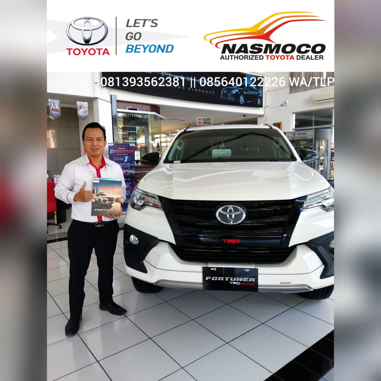 Sales Marketing Mobil Dealer Toyota Lucky